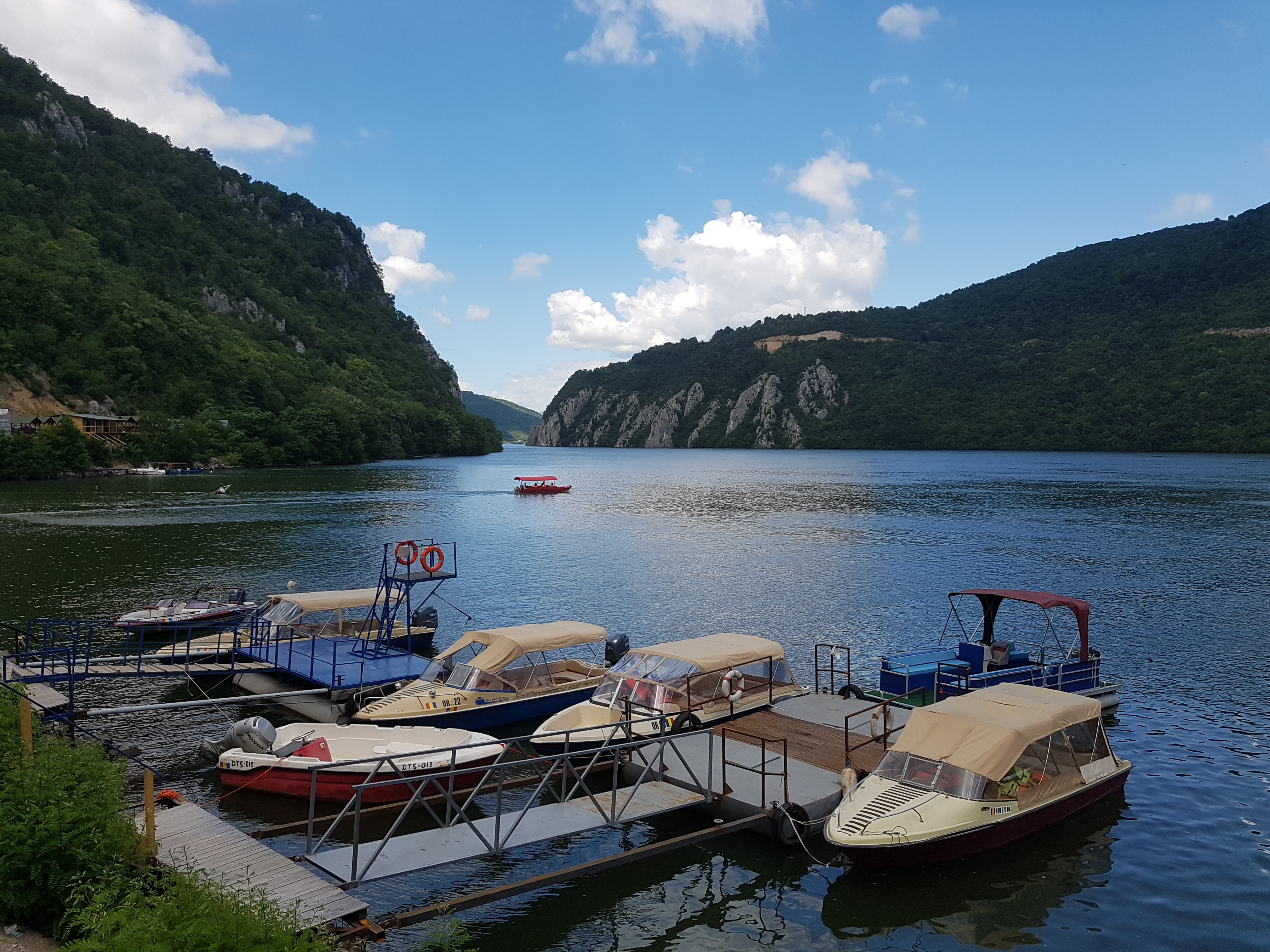 Agrement nautic - Cazanele Dunării
